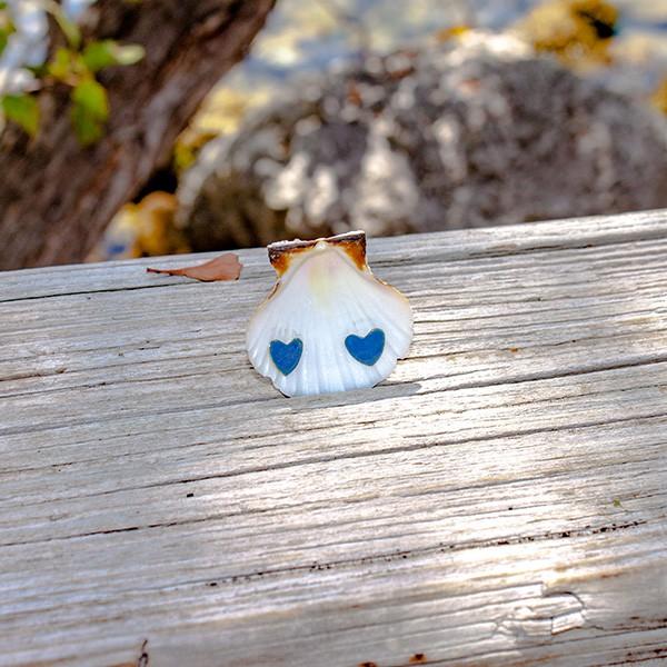Small Heart Earrings   Enamel Earrings
